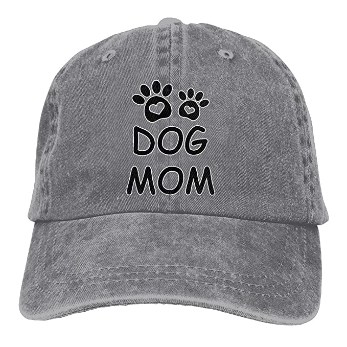a0a2ee3958f Thirteenkeke Dog Mom Unisex Denim Bucket Hat Popular Snapback Caps ...