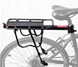 e6d0e5784f2 COMINGFIT® 50kg Capacity Aluminum Alloy Bicycle Rear Rack Adjustable Pannier  Bike Luggage Cargo Rack Bicycle