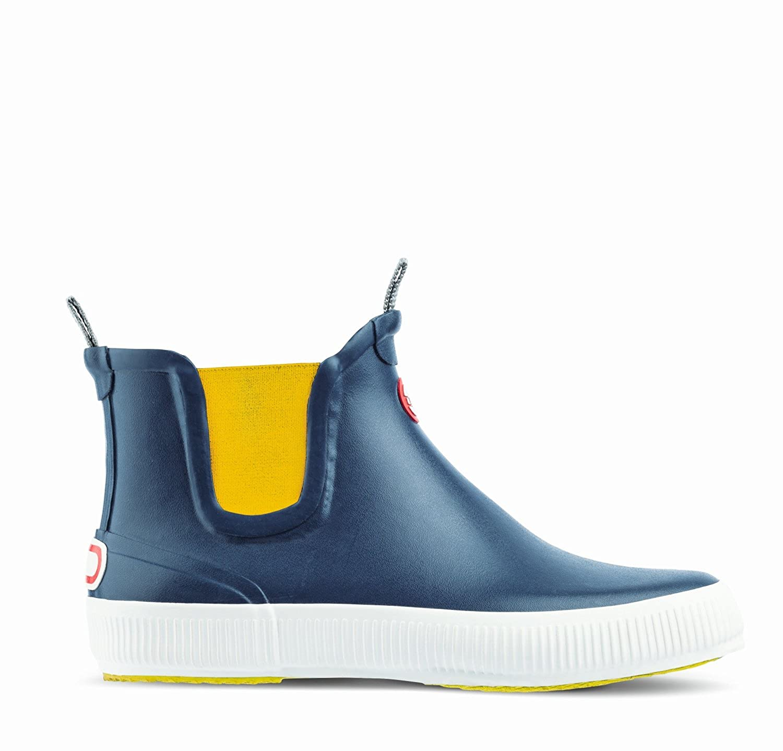 Gummistiefellette Hai Low blau gelb Nokian 6l7JU2YQ5z