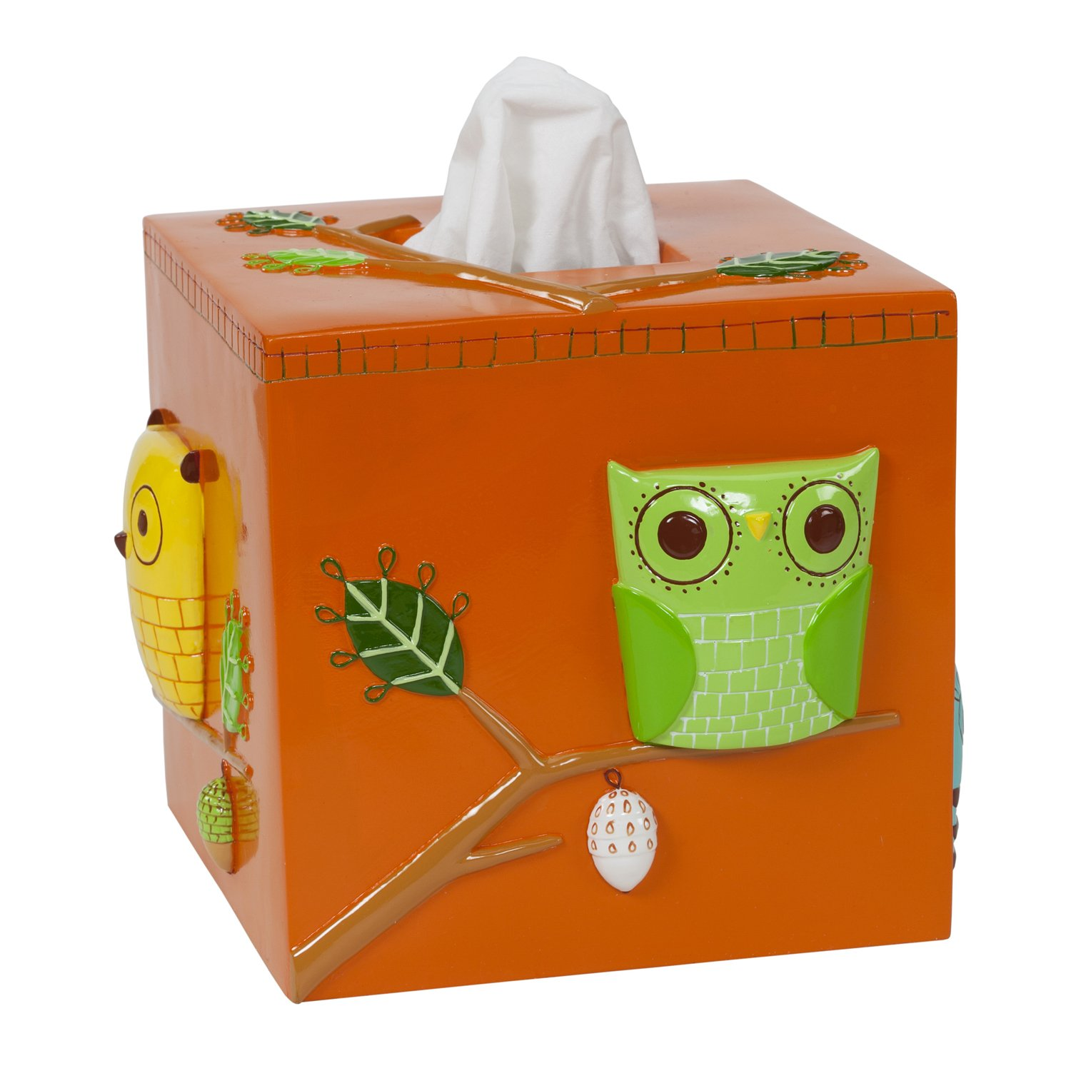 Creative Bath Products Give a Hoot Tissue Cover