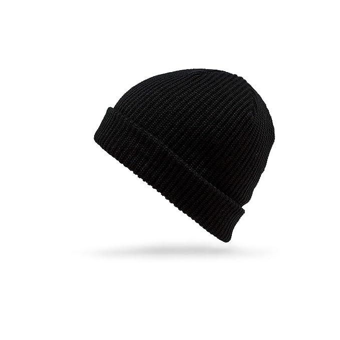 d68317f8d09 Amazon.com  Volcom Men s Full Stone Beanie Black  Clothing