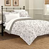 Discoveries Deep Sea Ocean Seashell Bedding Comforter Set, Queen, Taupe