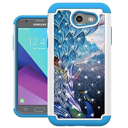 Amazon.com: Para Samsung Galaxy J3emerge, carcasa ...