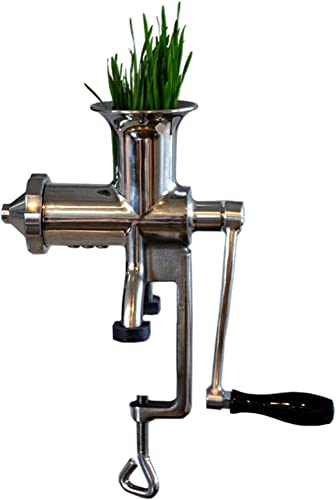 Handy-Pantry-HJ-Hurricane-Stainless-Steel-Manual-Wheatgrass-Juicer