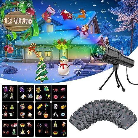 Amazon.com: Diditech - Proyector de luces LED de Navidad, 2 ...