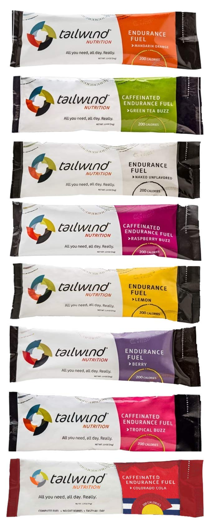 Tailwind Nutrition - Vegan Marathon Nutrition Endurance Fuel Starter Pack for Running, Cycling, Marathon, Triathlon, Ditch The Energy Gels, Bars, Chews and Try Tailwind as a Replacement
