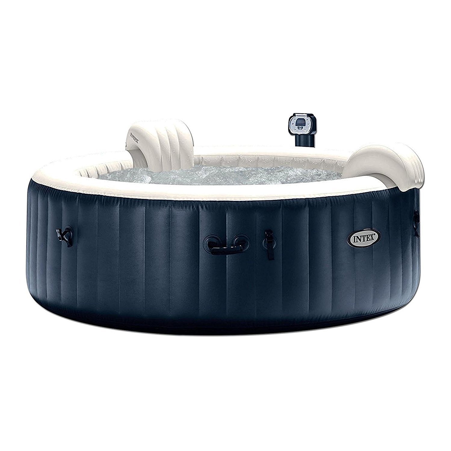 Pure Spa 6-Person Inflatable Portable Heated Bubble Hot Tub