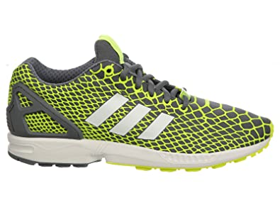 99d0a747f adidas for Men  ZX Flux Techfit Solar Yellow Running White FTW Onix Sneakers