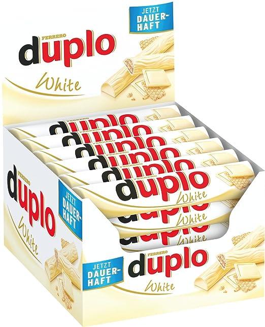 Ferrero Duplo Blanc Gaufrette 18g - Lot de 40  Amazon.fr  Epicerie 604166a121d