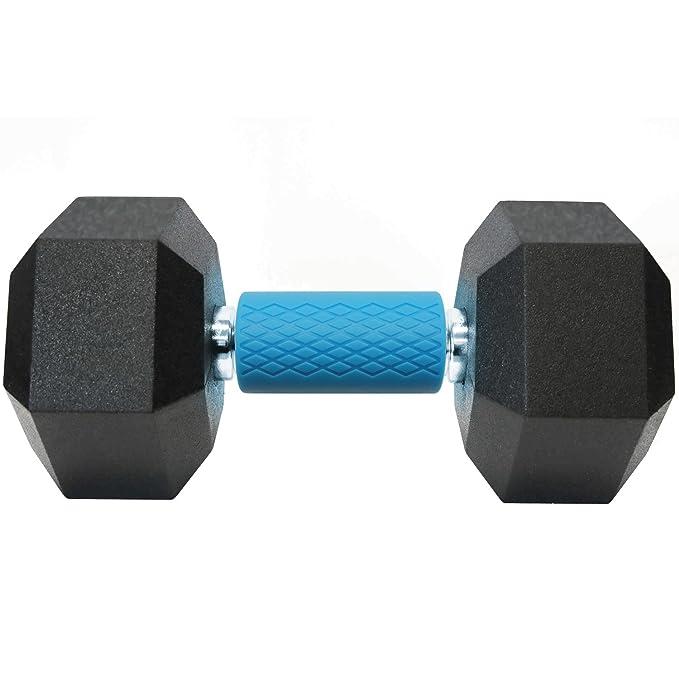 CampTeck U6816 Grip Barra Silicona Grips Adaptador Mango para Mancuernas Pesas - Aumenta el tamaño del Brazo, Bíceps, Tríceps, Antebrazos y Fuerza de Agarre ...