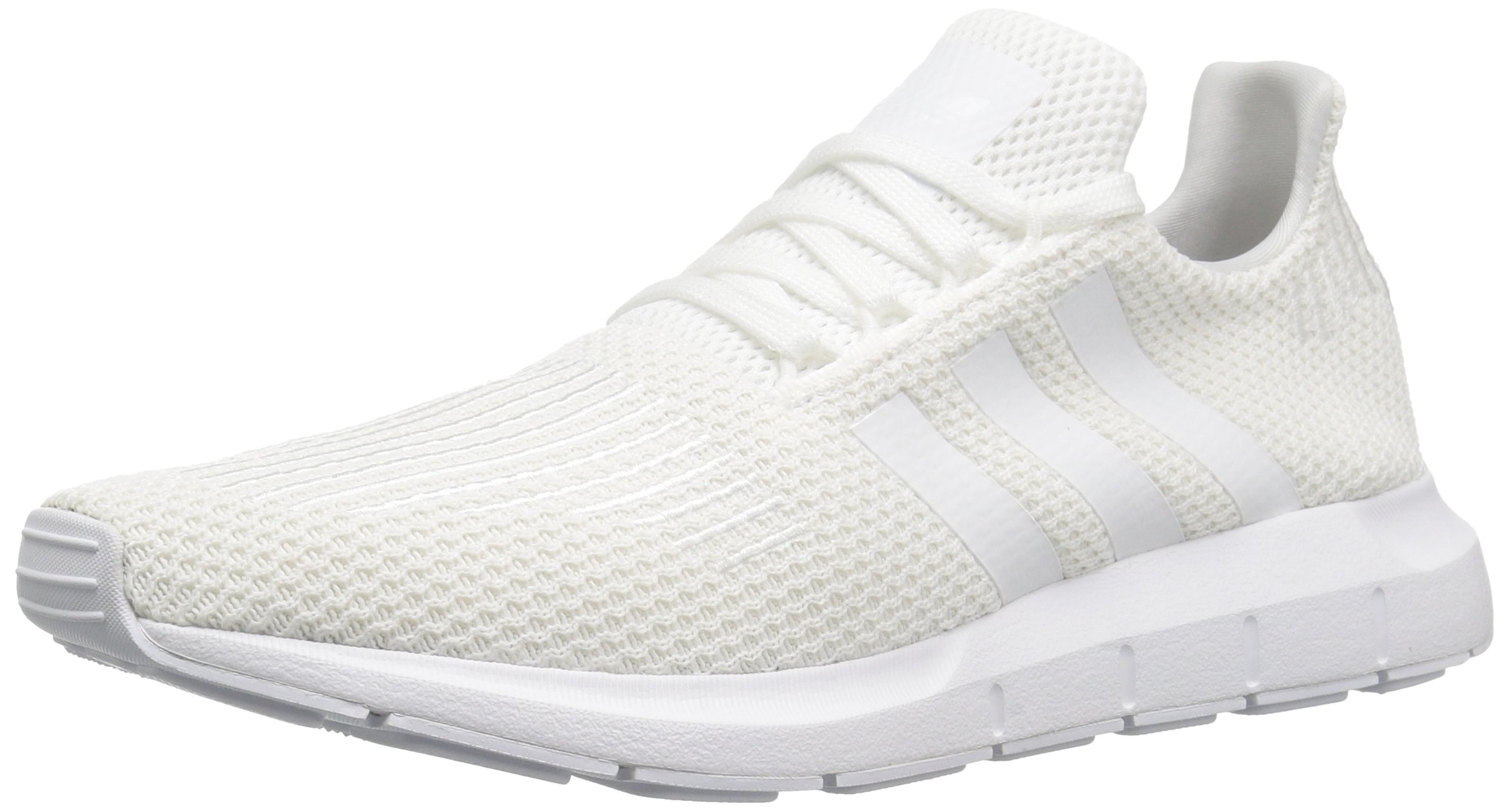 adidas Originals Men's Swift Running Shoe, White/White/Black, 10 M US by adidas Originals