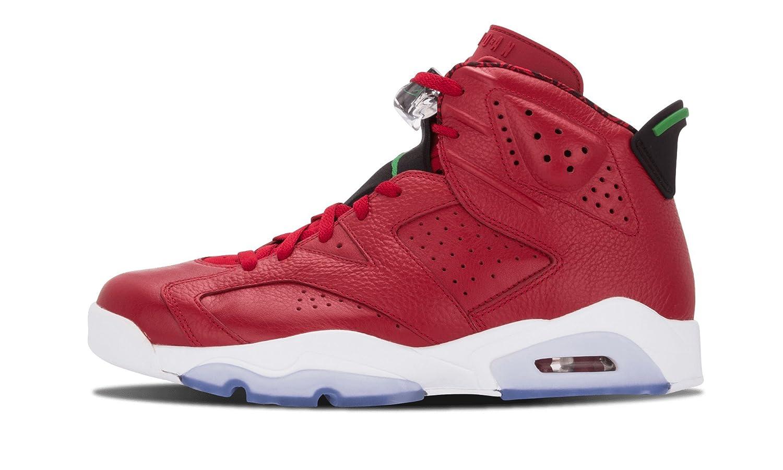 save off 3e545 c411d ... Varsity Red Classic Green-Black-White  Amazon.com Nike Mens Air Jordan  6 Retro Spizike ...