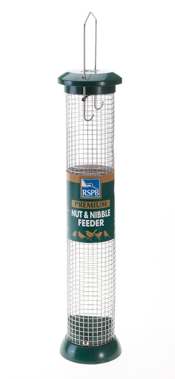 RSPB - Comedero para pájaros (38, 1 cm, acero inoxidable): Amazon.es: Jardín