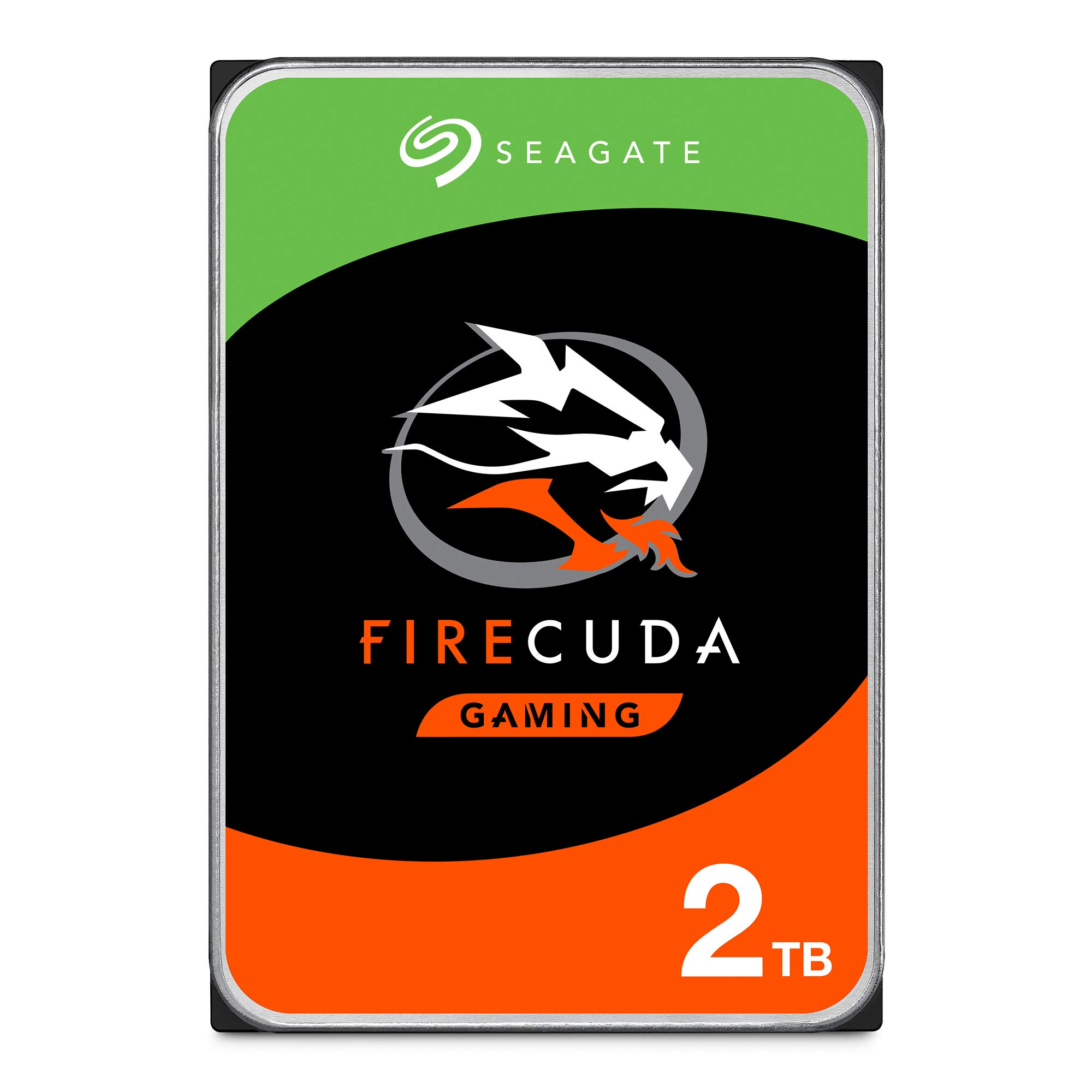 Seagate FireCuda 2TB Solid State Hybrid Drive Performance SSHD - 3.5 Inch SATA 6Gb/s Flash Accelerated for Gaming PC Laptop Frustration Free Packaging (ST2000DX002)
