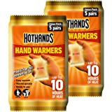 Hot Hands Hand Warmer Value Pack, 5 x Pack of 2(10 pairs)