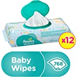 Pampers Fresh Clean Baby Wipes, 768 Count