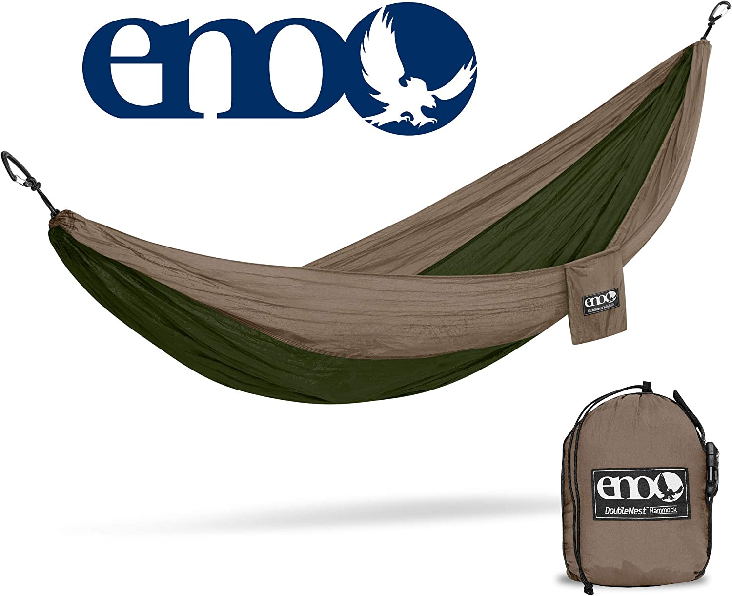 ENO – Eagles Nest Outfitters DoubleNest Hammock with Insect Shield Treatment