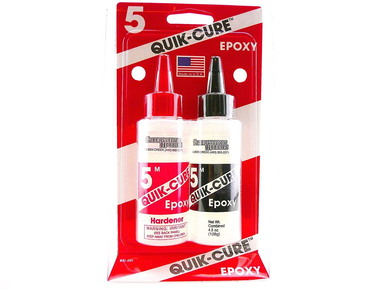 BSI bsi-202 Quick-Cure 5 min epoxi Bob Smith Ind., 9 ml 9ml Bob Smith Industries