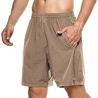 DAFENP Pantalones Cortos Hombre Deporte Running Shorts Deportivos Verano Ligero Secado Rápido Transpirable con Bolsillo…