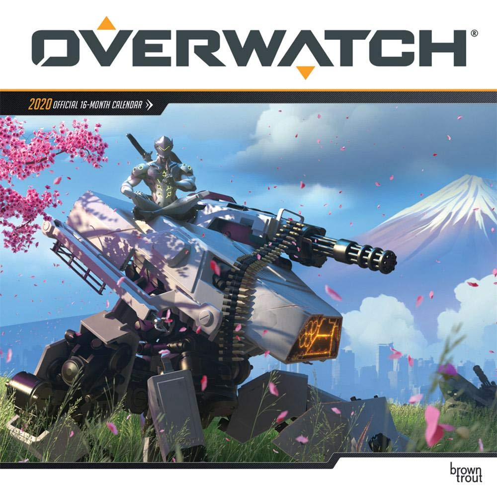 Video Game Calendar 2020 Overwatch 2020 Calendar: Browntrout Publishing: 9781975412050