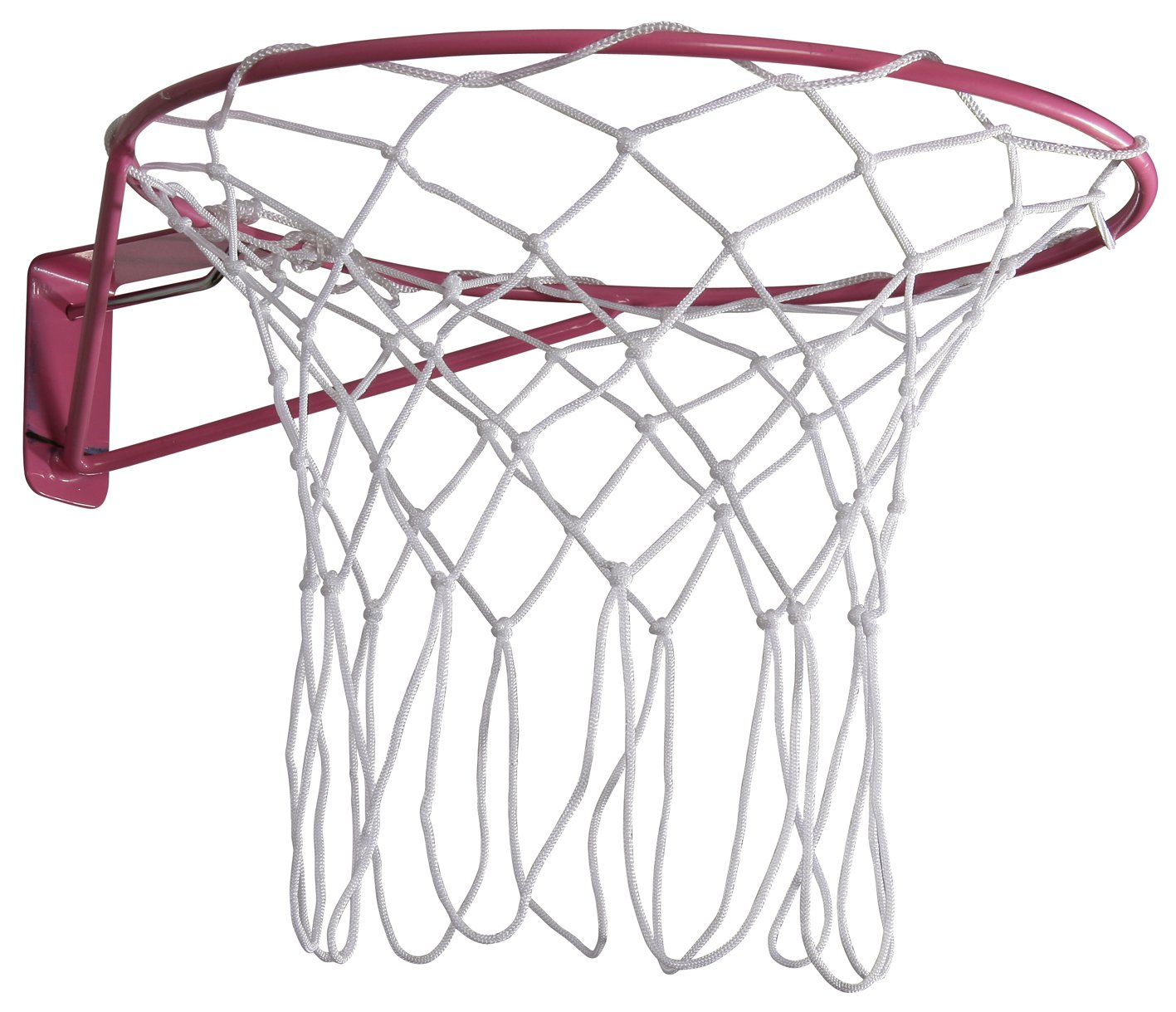 Academy Wall Mounted Netball Goal Ring - Pink One Size Grays 86880049