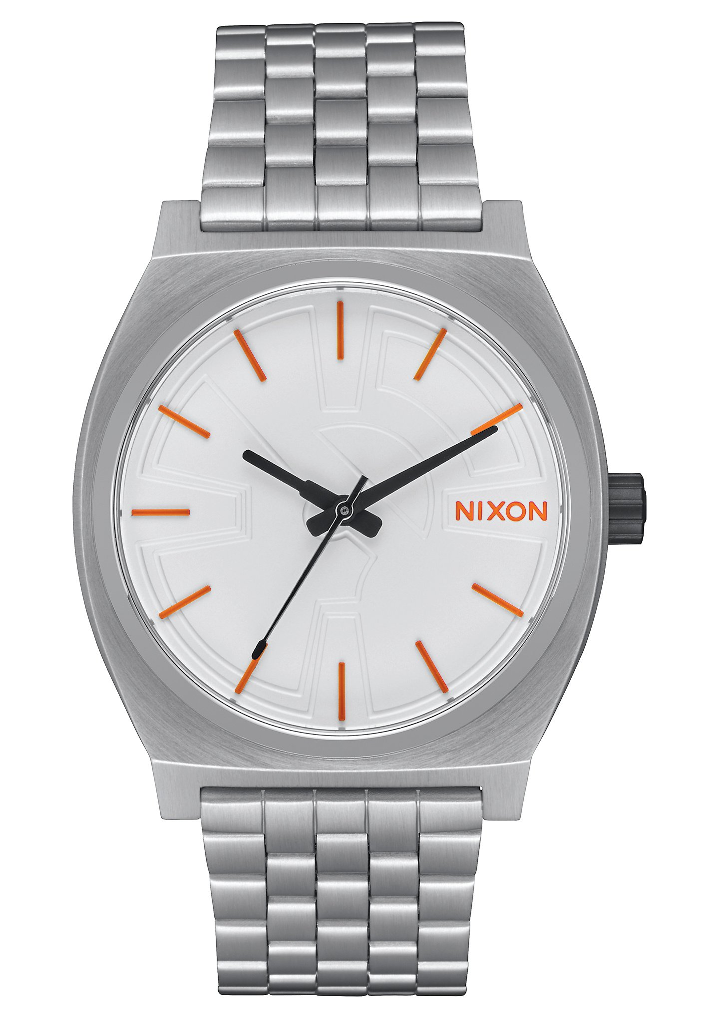 Nixon Unisex Time Teller - Star Wars Collection Bb-8 Silver/Orange Watch by NIXON