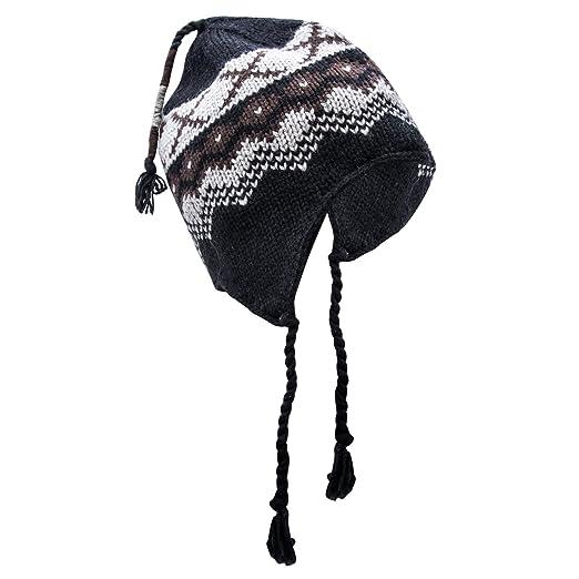 de153b379d4e9 Pierre Cardin Men s Peruvian Helmet (Jacquard Knit Grey