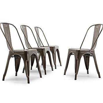 Amazon.com: SABADIVA Mesa de cocina y sillas para 4 sillas ...