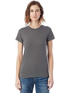 Alternative Womens Basic Short Sleeve Crew Neck Tee