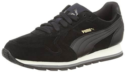 Puma St Runner SD, Zapatillas Unisex Adulto, Negro (Black 01), 44.5 EU