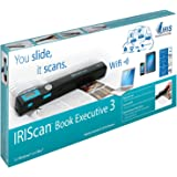 IRIScan Book Executive 3 Wi-Fi Scanner Portatile per Documenti 3 ml per Formati JPG, PDF, Nero