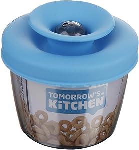 Tomorrow's Kitchen PopSome Toddler Snack Dispenser, Blue