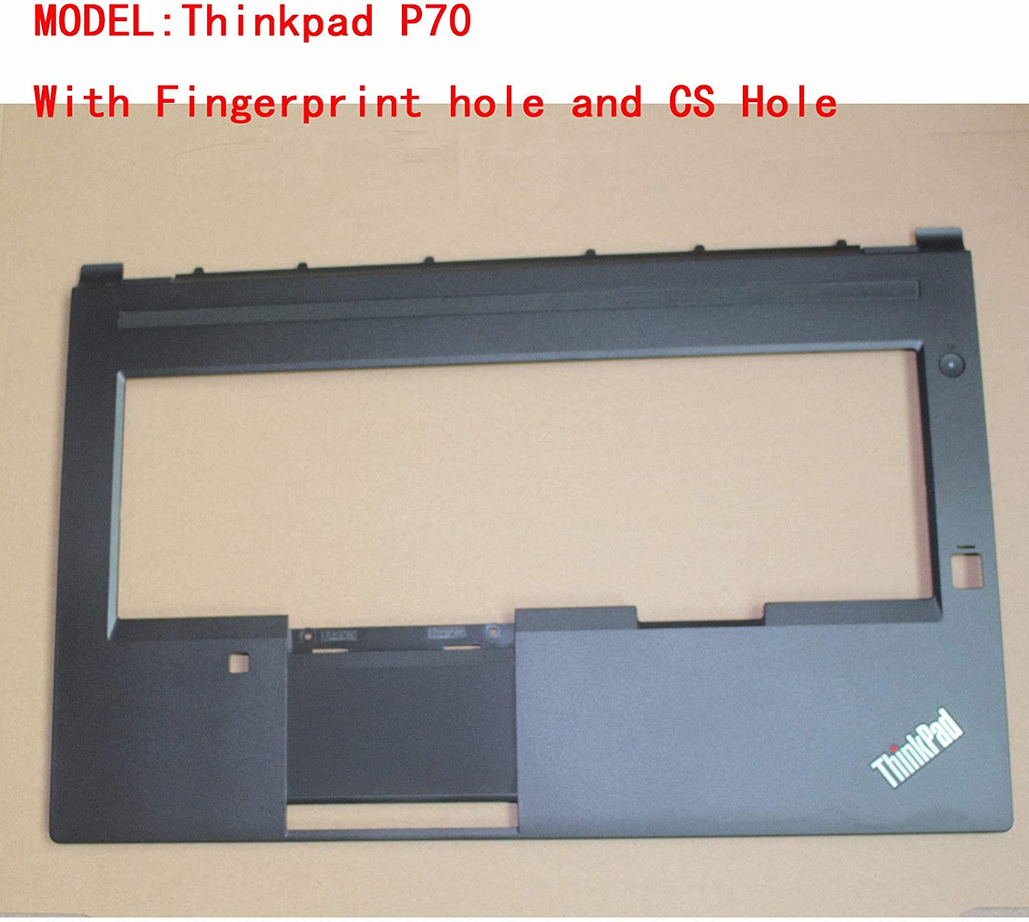 Genuine New for Lenovo Thinkpad P70 Palmrest Upper Keyboard Bezel Cover AP0Z5000800