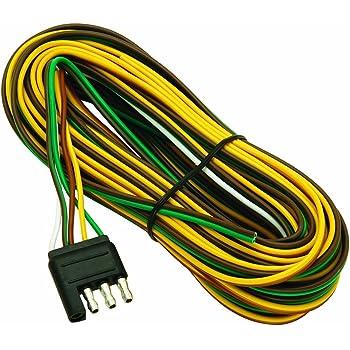 amazon com hopkins 48265 30 4 wire flat trailer side y harness rh amazon com