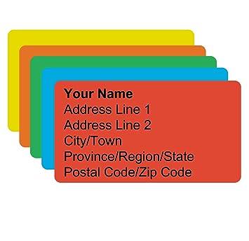 meta label 600 pcs personalized return address labels basic style