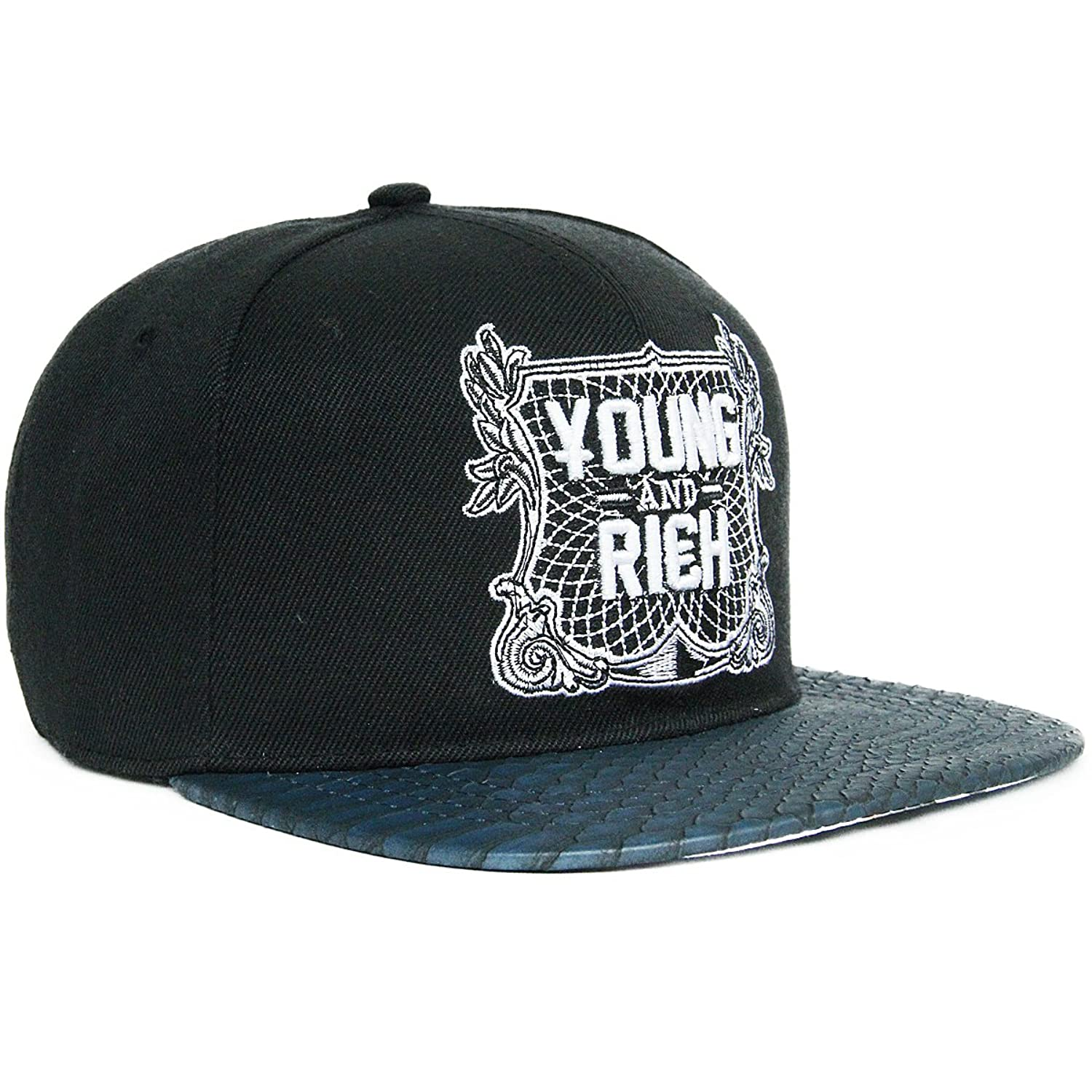 Rayna Fashion unisex casual flat bill visor hats hip hop caps embroidery patch