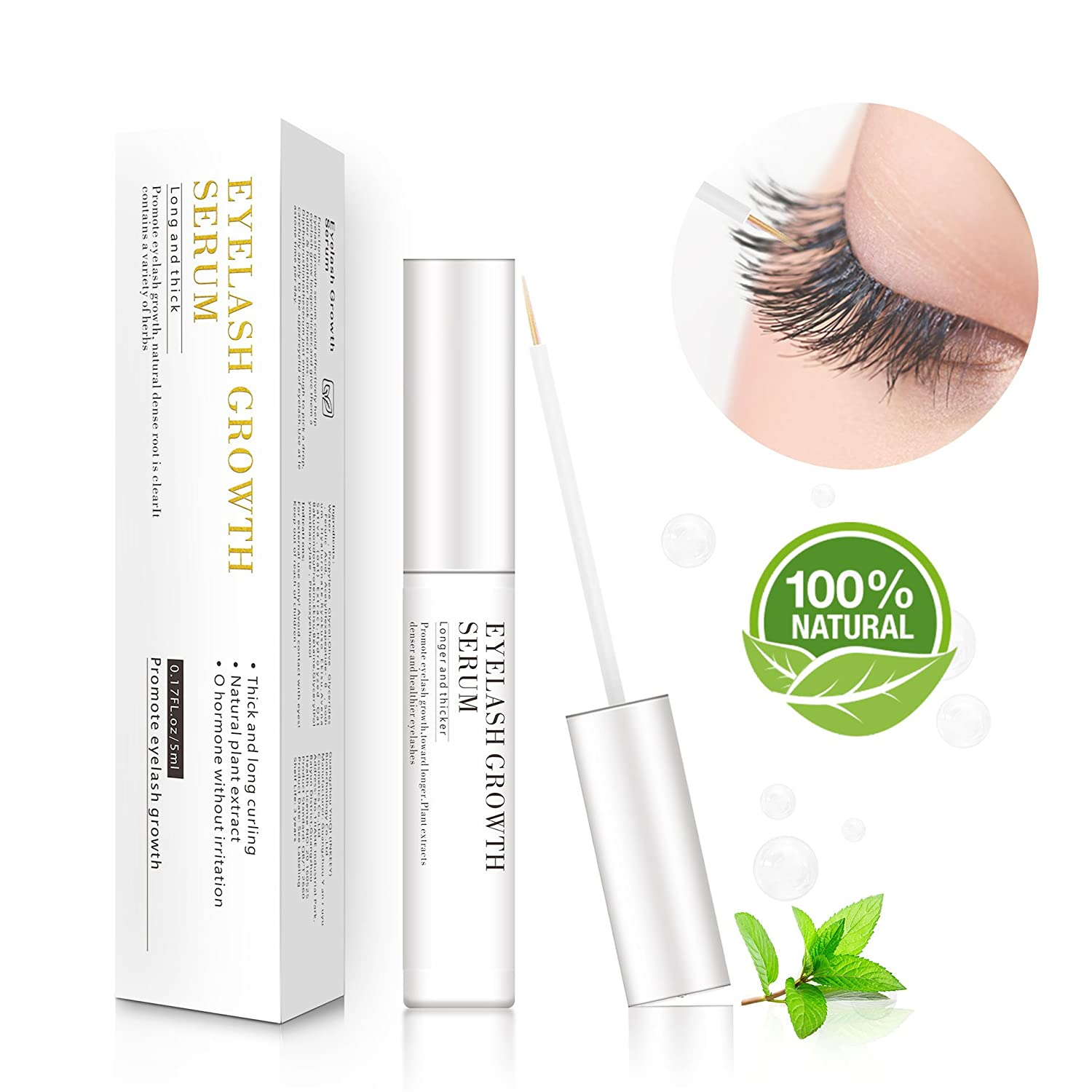 Eyelash Serum & Eyebrow Serum 5ml - For lengthening the eyelashes and eyebrows, more density and a more sensual, darker color of the eyelashes