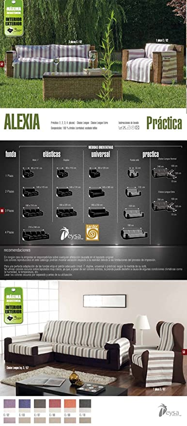 Colorintex - Eysa - Fundas de Sillas y Sofas - Alexia ...