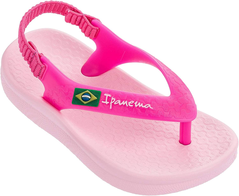 Sandalen f/ür Babys Pink Soft Anatomic Plastic Ipanema