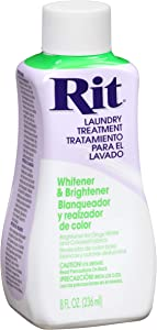 Rit Dye Laundry Treatment Whitener and Brightener, 8 fl oz