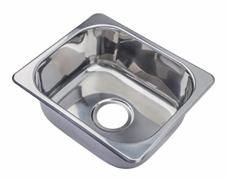 Inset Kitchen Sinks Hygenic small bowl topmount inset stainless steel kitchen sink a11 hygenic small bowl topmount inset stainless steel kitchen sink a11 no workwithnaturefo