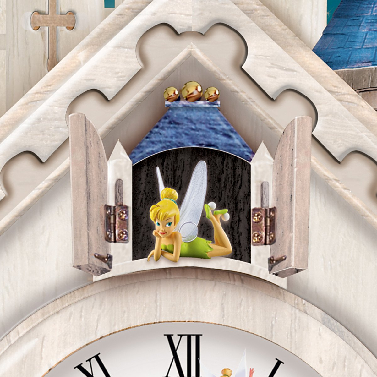 Disney wall clock amazon amazoncom disney character cuckoo clock happiest of times by amipublicfo Image collections
