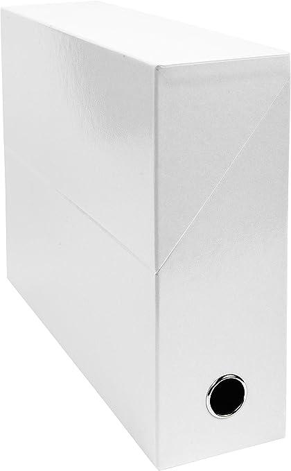 Exacompta 89931E - Carpeta (Conventional file folder, Caja de cartón, Blanco, A4, 250 mm, 330 mm): Amazon.es: Oficina y papelería