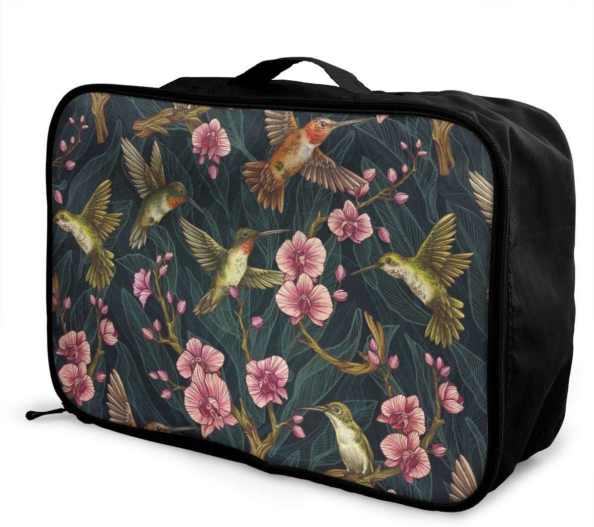 Lightweight Large Capacity Duffel Portable Luggage Bag Hot Air Balloon Sky Cartoon Travel Waterproof Foldable Storage Carry Tote Bag