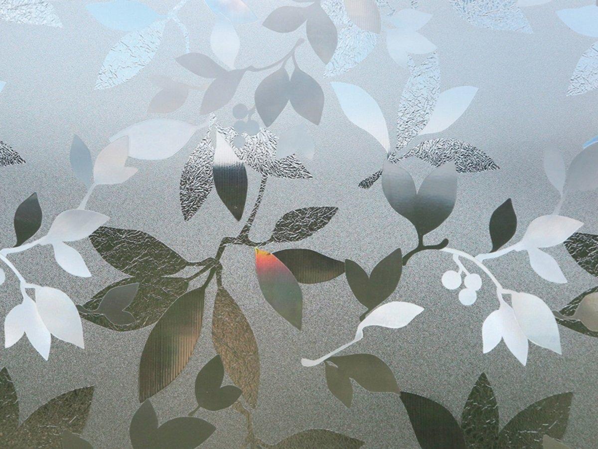 Fensterfolie Blätter GLC 1058 LINEAFIX statische Dekorfolie