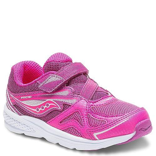 bc9f4e8764 Saucony Girls Baby Ride Sneaker (Little Kid/Toddler)