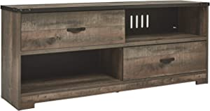 Signature Design by Ashley Trinell TV Stand, Brown
