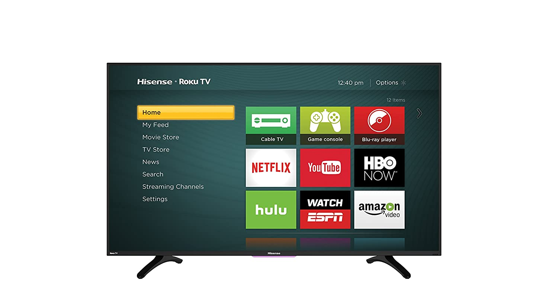 Amazon Com Hisense 50h4c 50 Inch 1080p Roku Smart Led Tv 2016  # Modeles De Table De Television