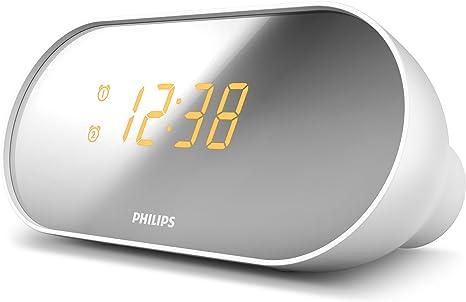 Philips AJ2000/12 Radiodespertador, FM Radio (Alarma Dual,
