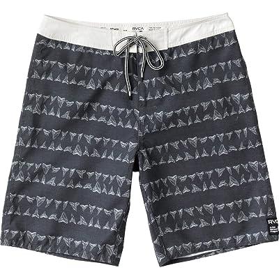 RVCA Men's Horton Biter Trunks: Clothing